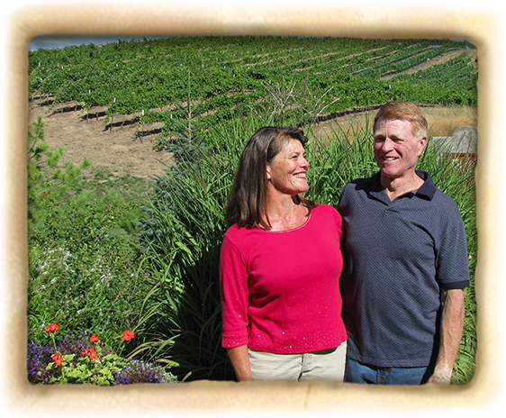 Cathy and Allen Mathews, Winemaker and Owner