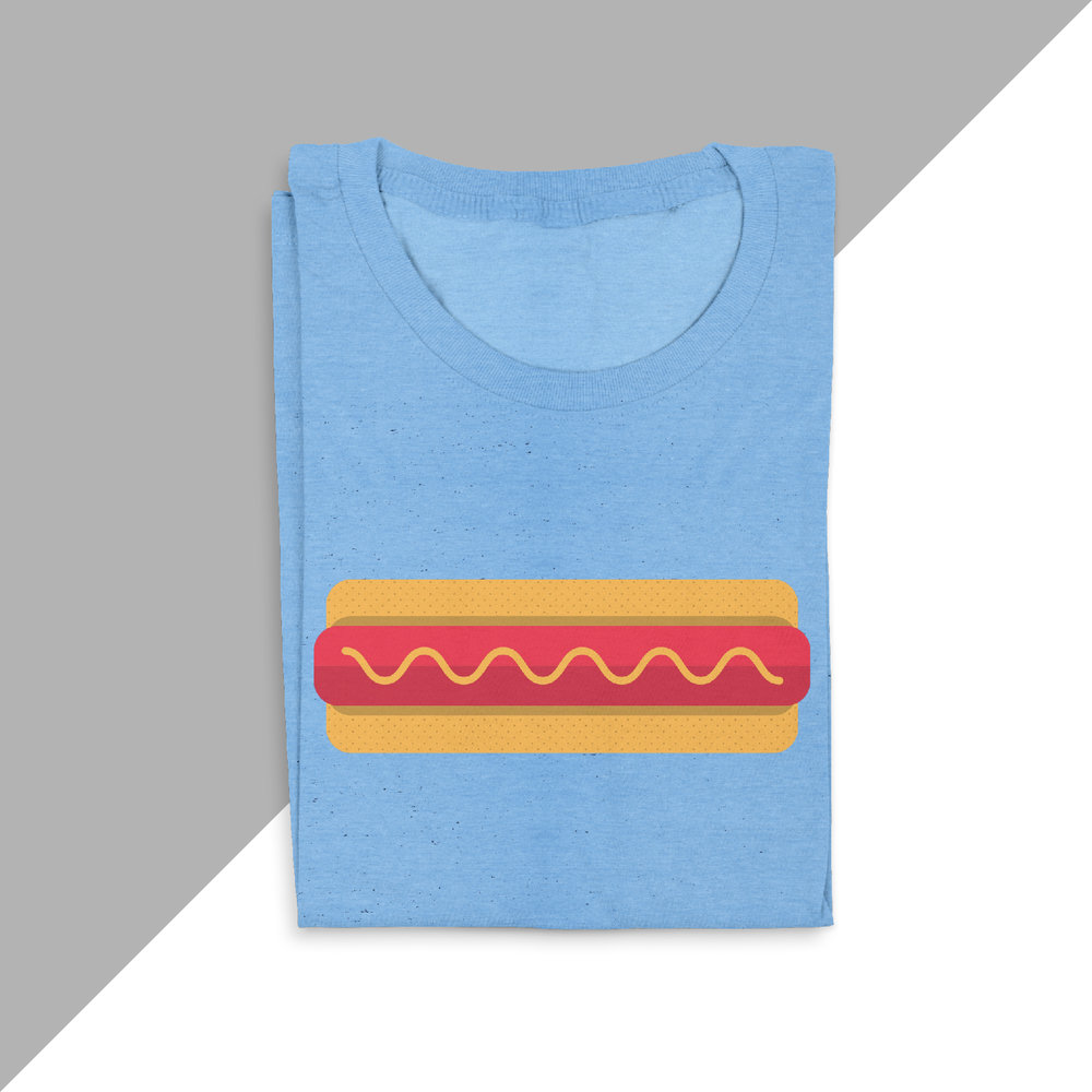 Hot Dog - https://cottonbureau.com/products/hot-dog