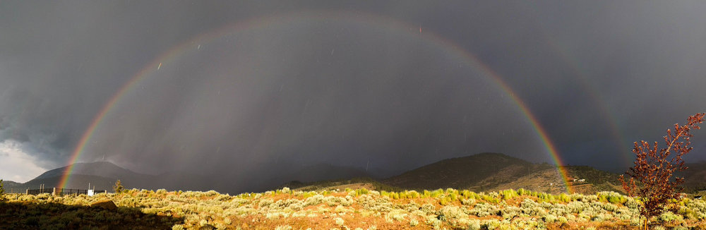 Double Rainbow at Mount Rose