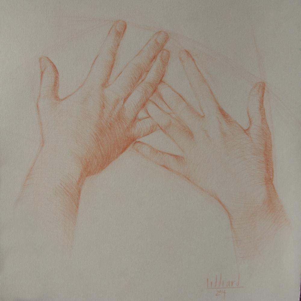Mariah's hands