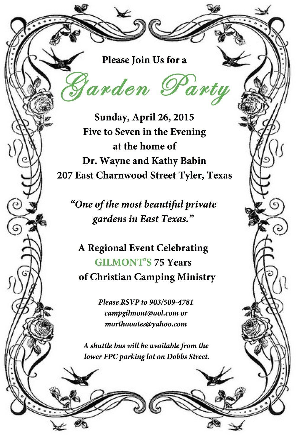 Glint Garden Party