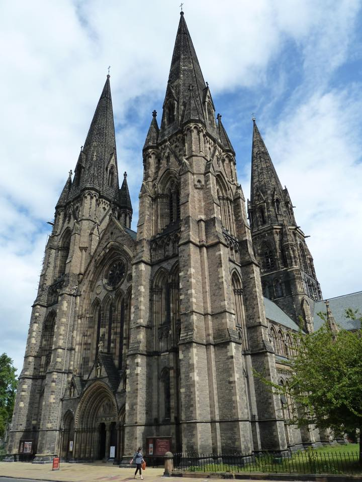 St. Mary's Cathedral in Edinburgh, Scotland
