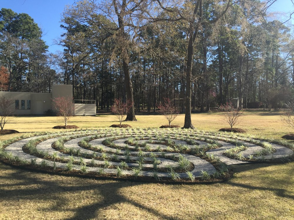 Claudia and Otis Carroll's Labyrinth at their home on Eastside Road in Tyler.