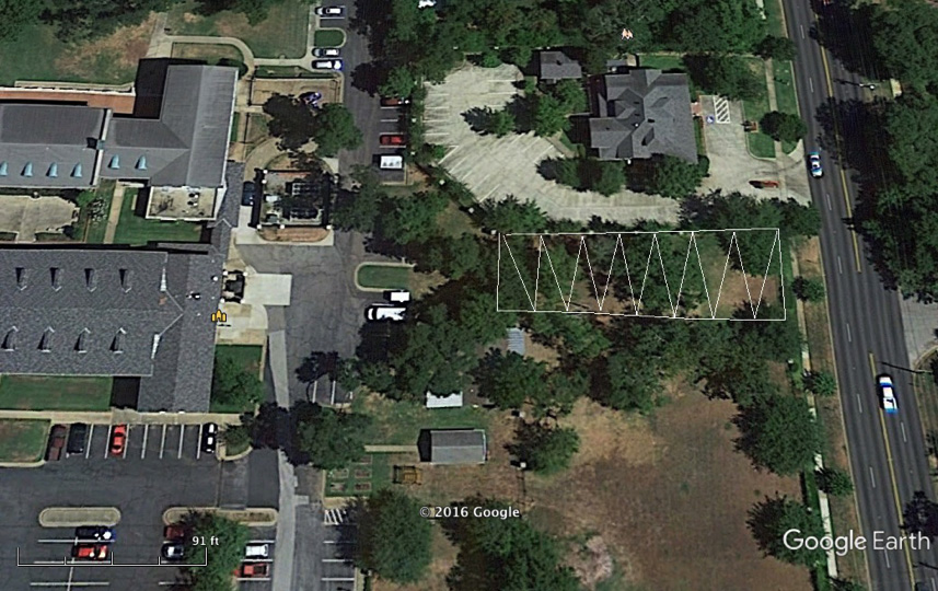 The shaded portion above is the  approximate  location and size of the property to be sold.