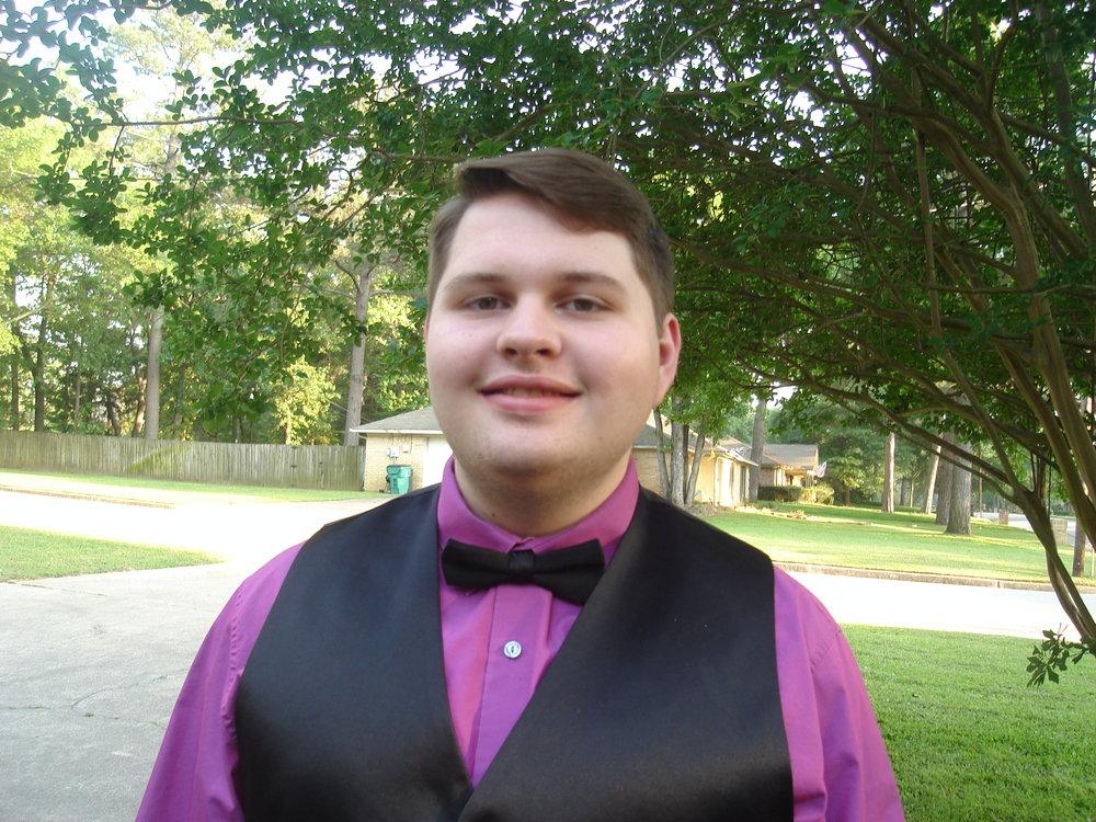 Graduating Senior, Alex Ellis