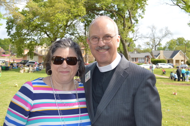 The Rev. Dr. Stuart Baskin and his wife, Amy