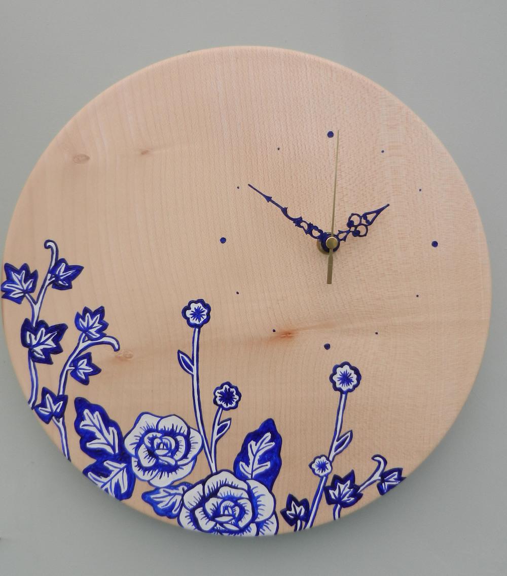 blue rose clock.jpg