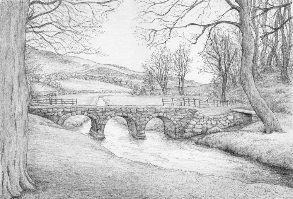 Bow Bridge over Mill Beck
