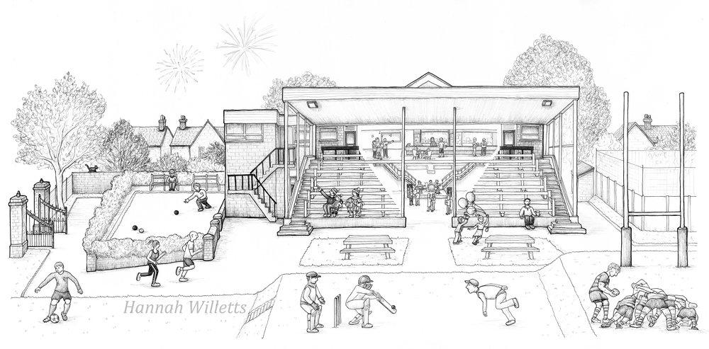 The Club - Hawcoat Park/ Vickers Sports