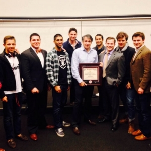 The brothers of Pike hosted CEO of Getty Images Jonathan Klein as part of their Pike Presents speaker series.