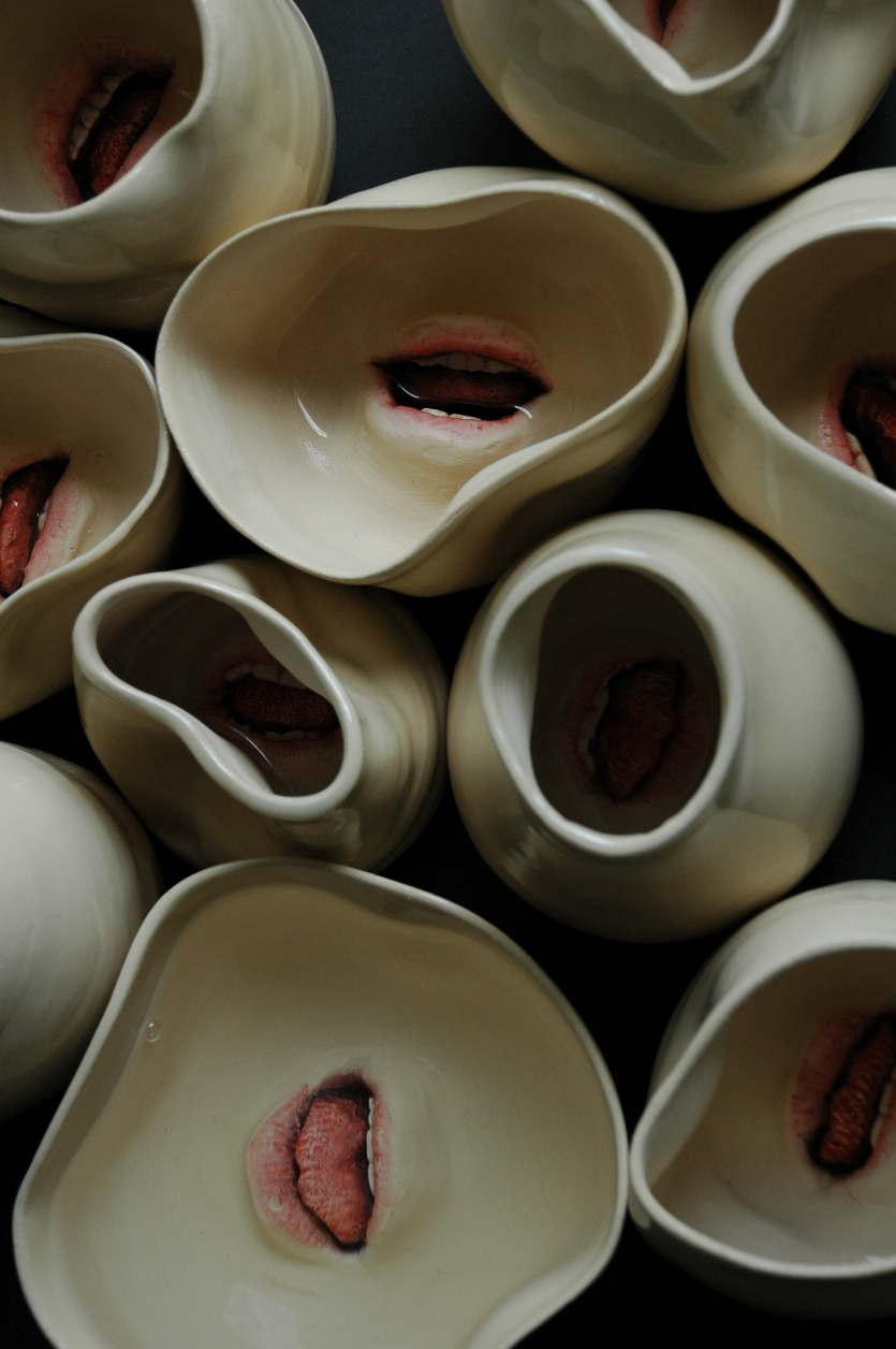 CROWD 3  - ceramic