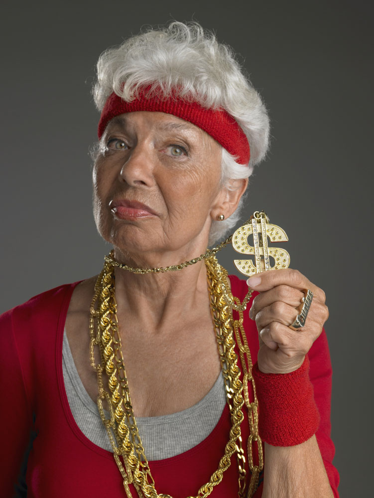 Listen to Grandma: Talk to Gold Refiners about recycling your gold chains and other bling. Credit: Christopher Robbins/DigitalVision.