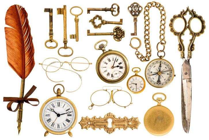 An assortment of gold, gold-plated and gold-filled items that you can recycle with Gold Refiners, part of Specialty Metals Smelters & Refiners, LLC. Credit: LiliGraphie/iStock/Thinkstock.