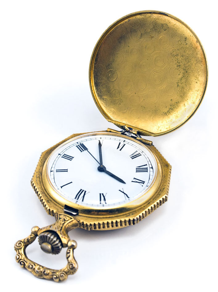 There could be more gold in this antique watch than meets the eye. Credit: Gavran333/iStock.