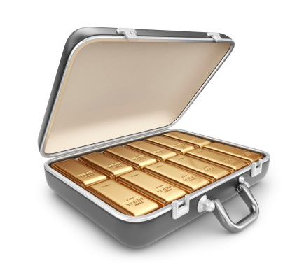 Before you bring your briefcase full of gold bullion bars into the country, you may want to read this post. Credit: Alexander Bedrin/iStock.