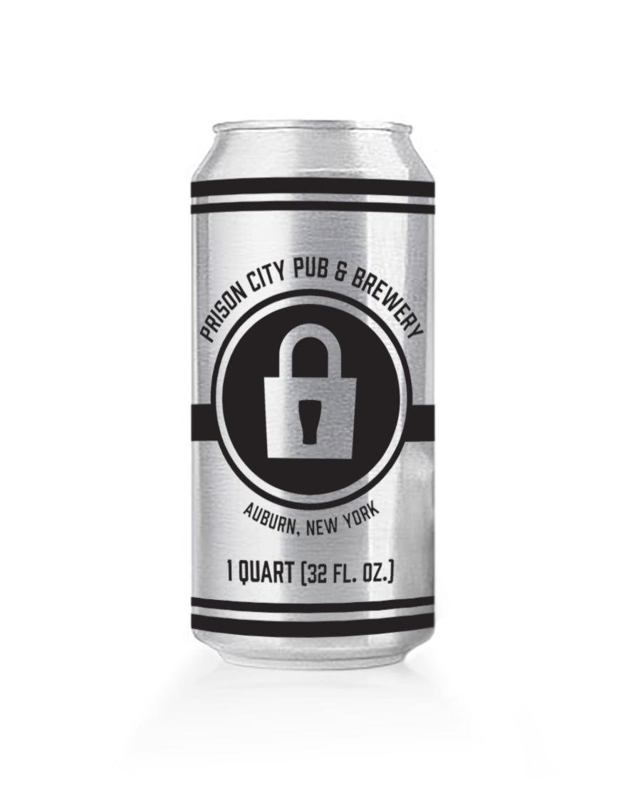 Prison City Pub & Brewery Crowler