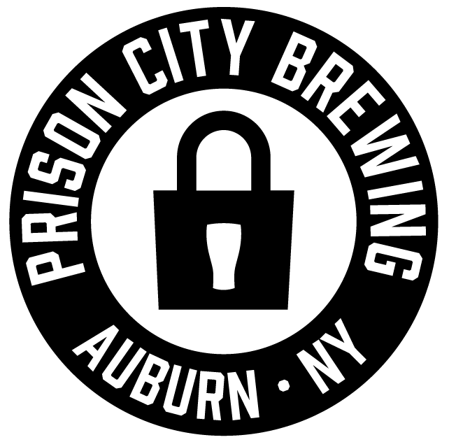 Prison City Circle Logo with Black Ring