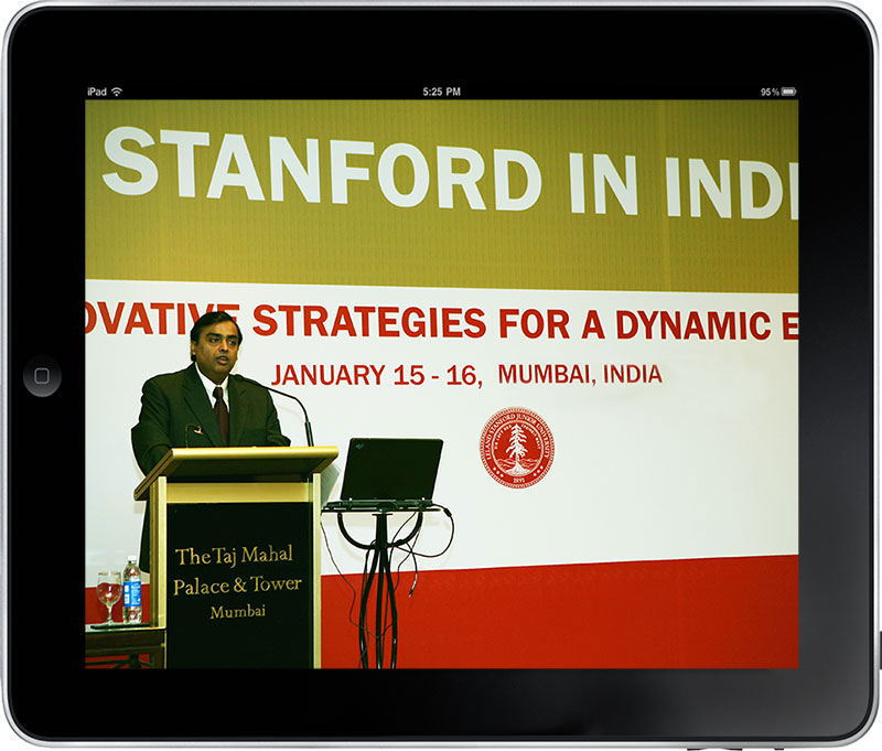 Stanford in India on-site graphics