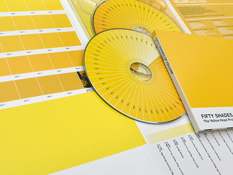 Yellow Hope Project  compact disc packaging