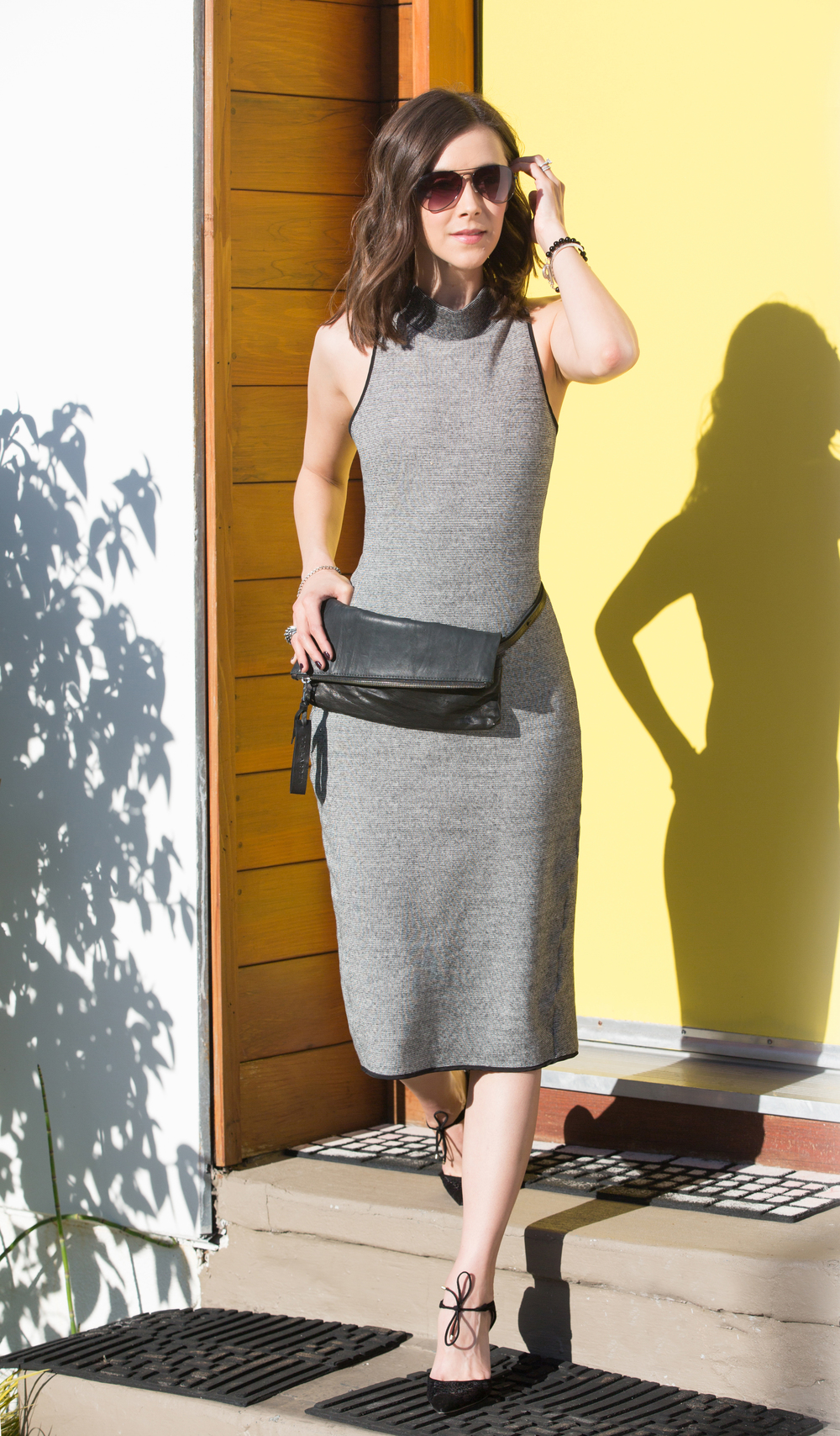 Ella Sheath Dress | Tara Clutch