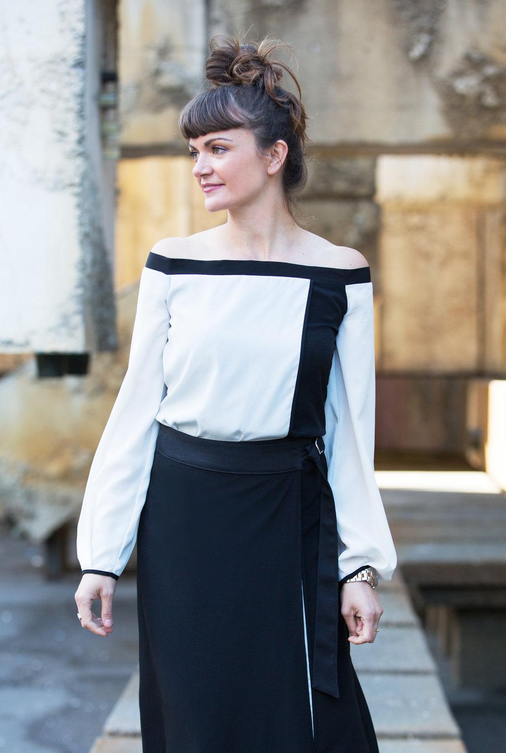 On Maja:  Alana Top  |  Lara Maxi