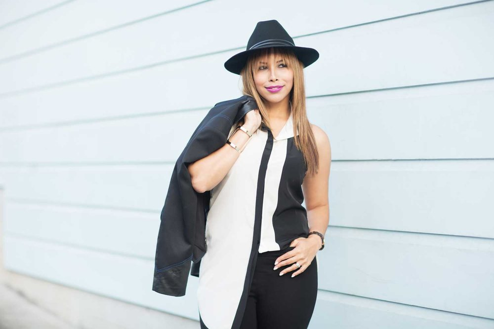 On Carolina - Rogue Hat | Niya Tunic | City Jacket