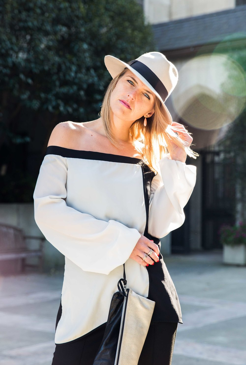 On Susanne - Alex Hat | Alana Top | Tara Clutch