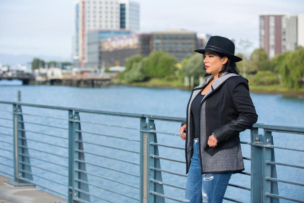 On Elisa - City Jacket | Gavin Sweater