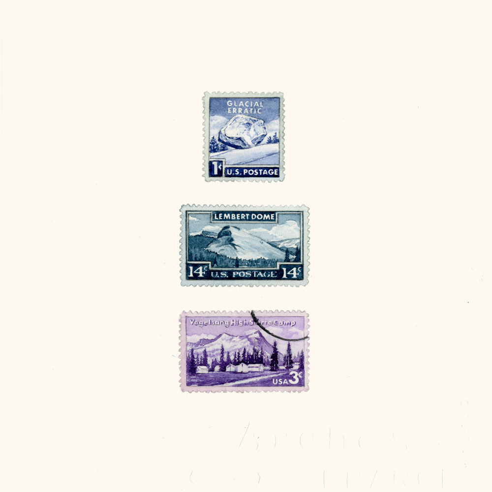 Three Yosemite Stamps