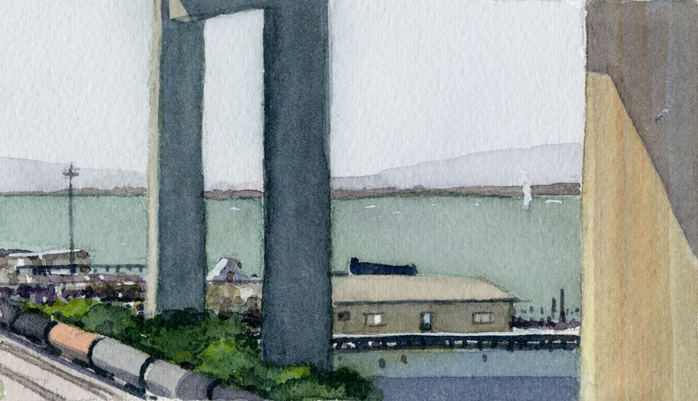 Carquinez Bridge From Crockett