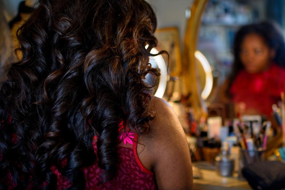 Krysty Swann's Beautiful Curly Hair