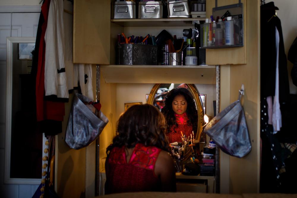 Krysty Swann in Mirror