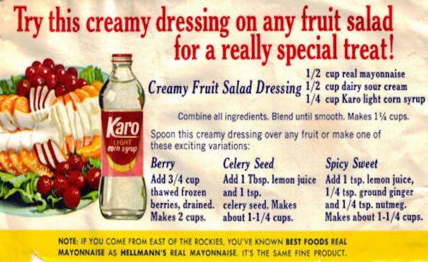 karo-salad-dressings
