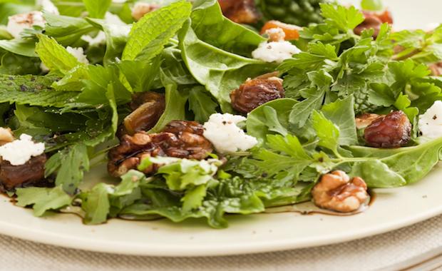 SK 049 Walnut Date Herb Salad