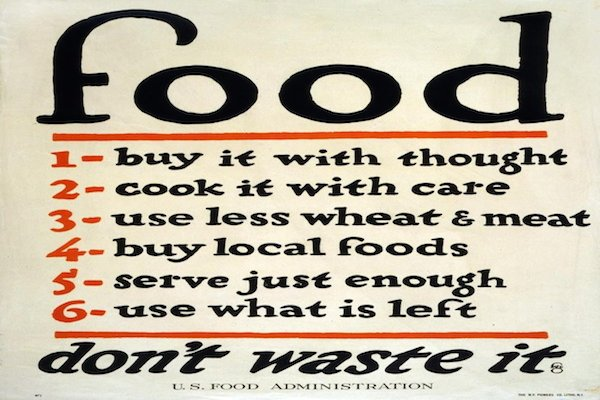 Food Poster from World War I