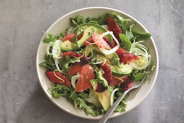 Avocado Citrus Salad from   The Healthy Mind Cookbook   by Rebecca Katz