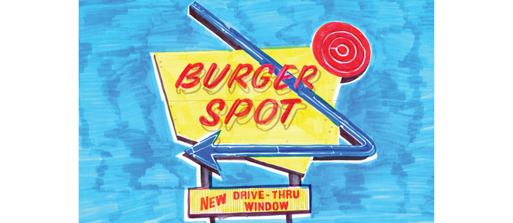 BYRON HAMBURGERS illustration