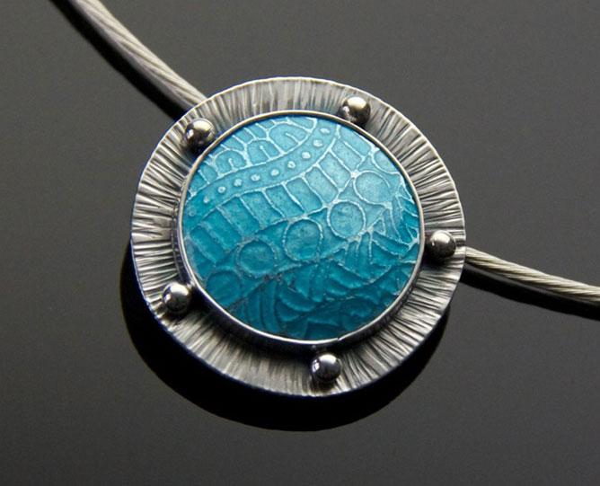 Blue Zen Enamel