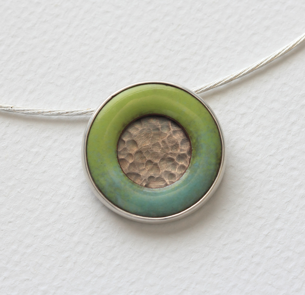 Circle of Life Landscape Pendant