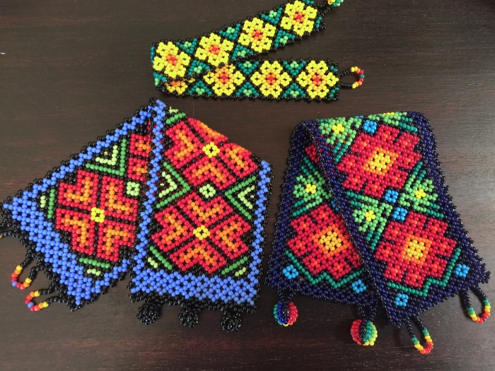 Three Huichol Bracelets