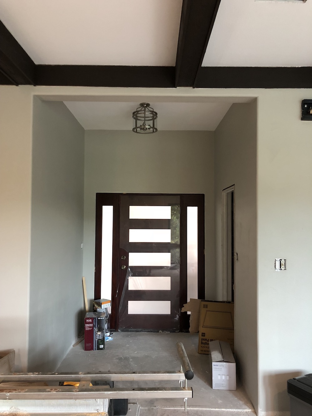 The final entryway