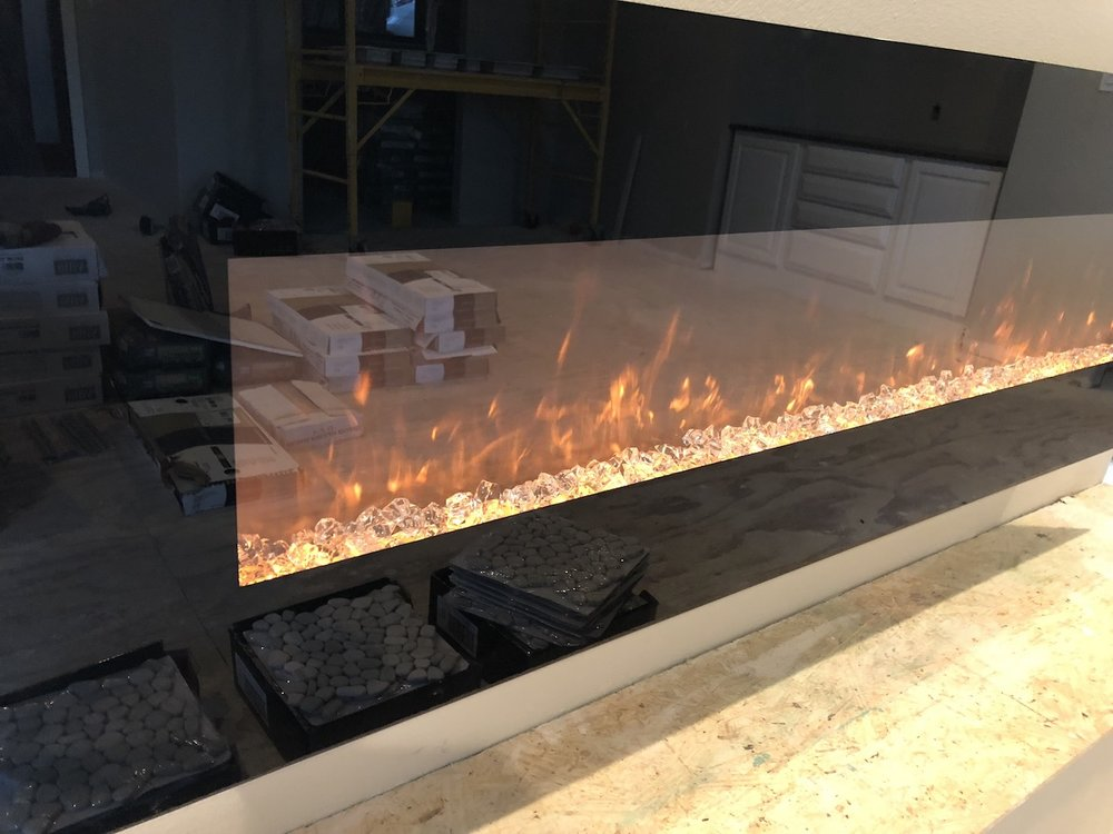 The Electric Fireplace Installed