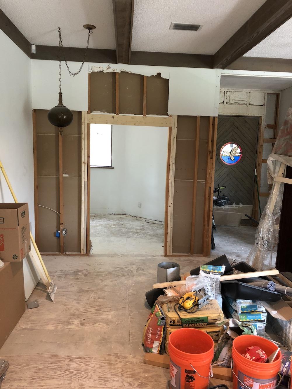 The New Office Door Opening