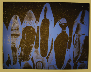 Andy Warhol, Diamond Dust Shoes, 1980
