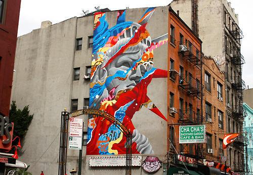Tristan Eaton, Liberty, NYC