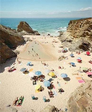 Christian Chaize, Praia Piquinia, 3:34 8/22/11, 2011, C-print.