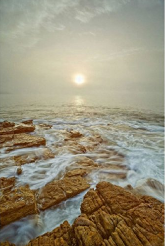 Gareth Rockliffe, Seawall 2006. Archival pigment print, ed of 25. 60x40 on Hamburg Kennedy Photographs Amazon.com