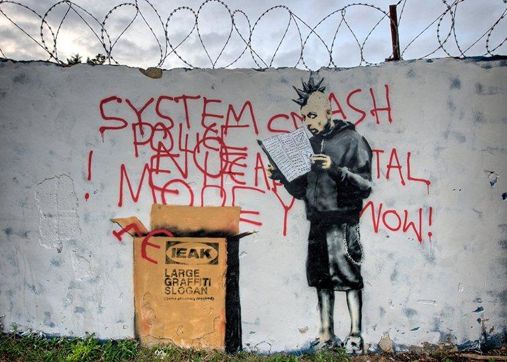 Banksy, Ikea Punk