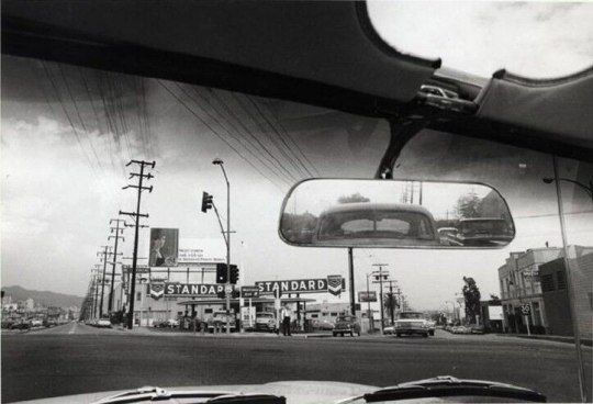 Dennis Hopper,  Double Standard, 1961. Los Angeles, Ca, USA. from Both Sides of Sunset: Photographing Los Angeles.