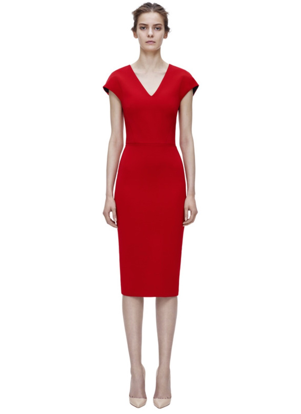 The perfect little red dress available at victoriabeckham.com